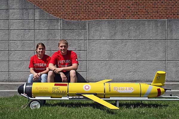 Rutgers' Transatlantic 'glider'