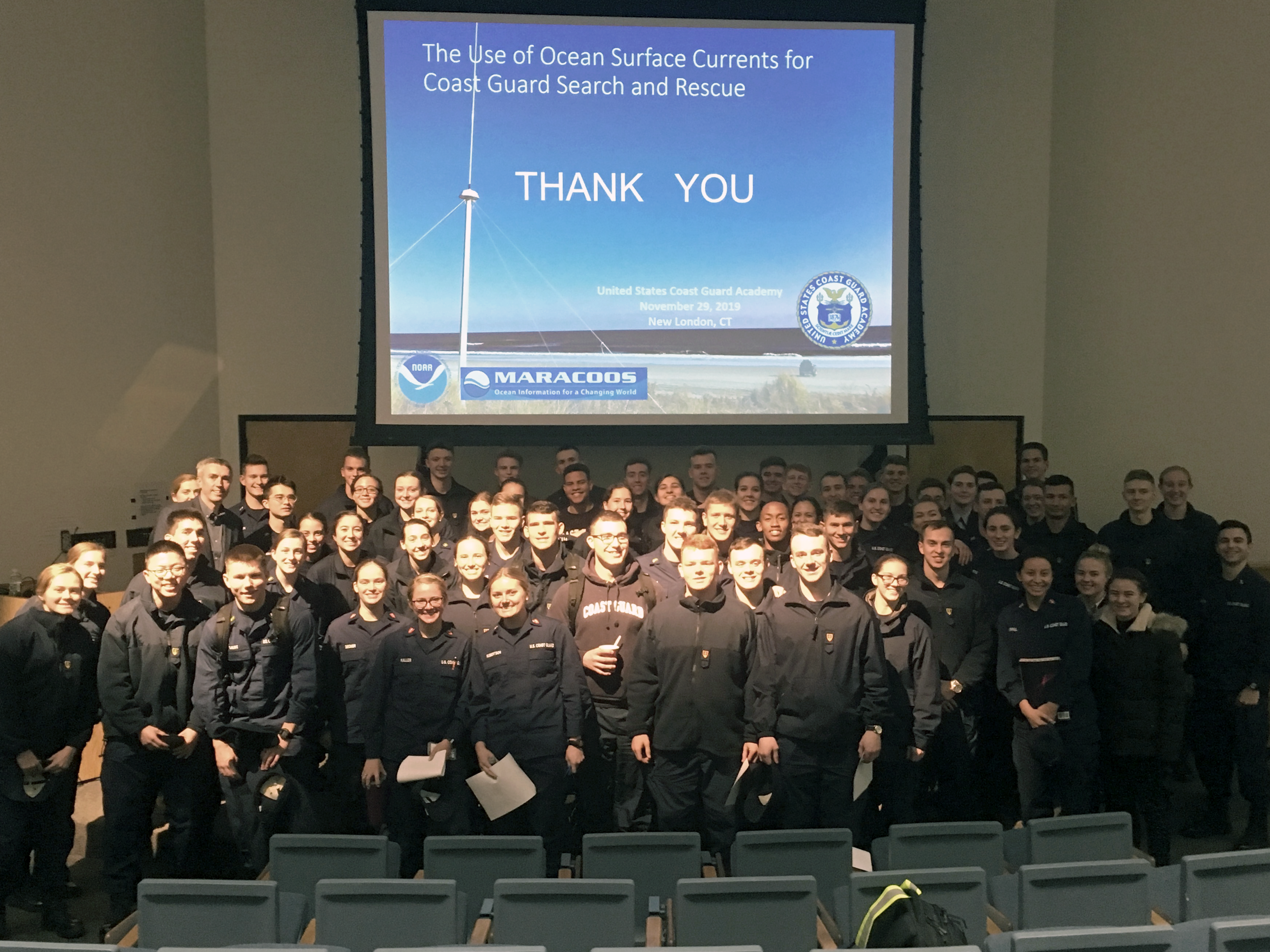 Science Lecture Series at United States Coast Guard Academy