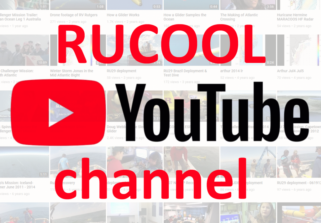 RUCOOL YouTube channel