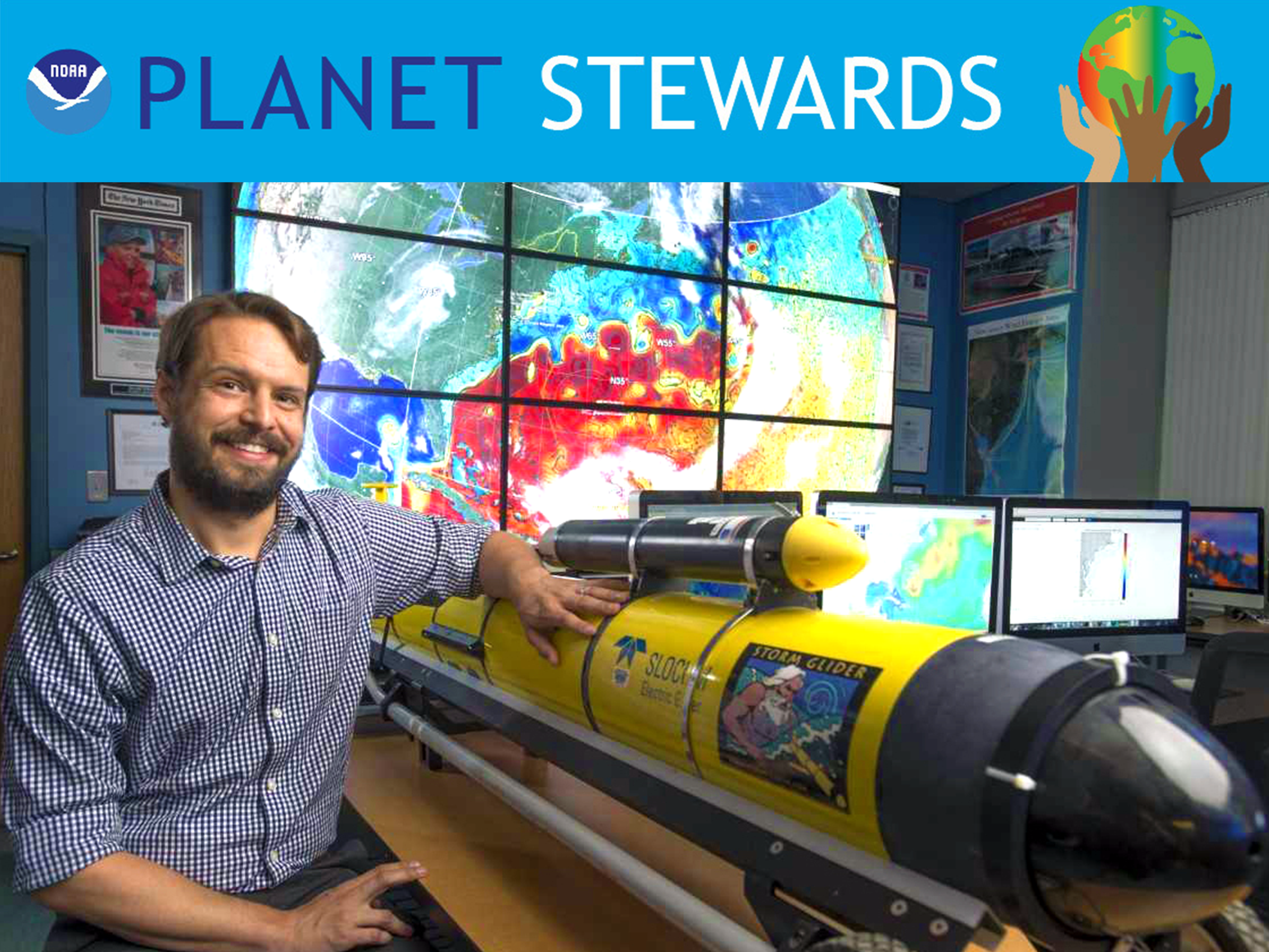 Travis Miles NOAA Planet Stewards