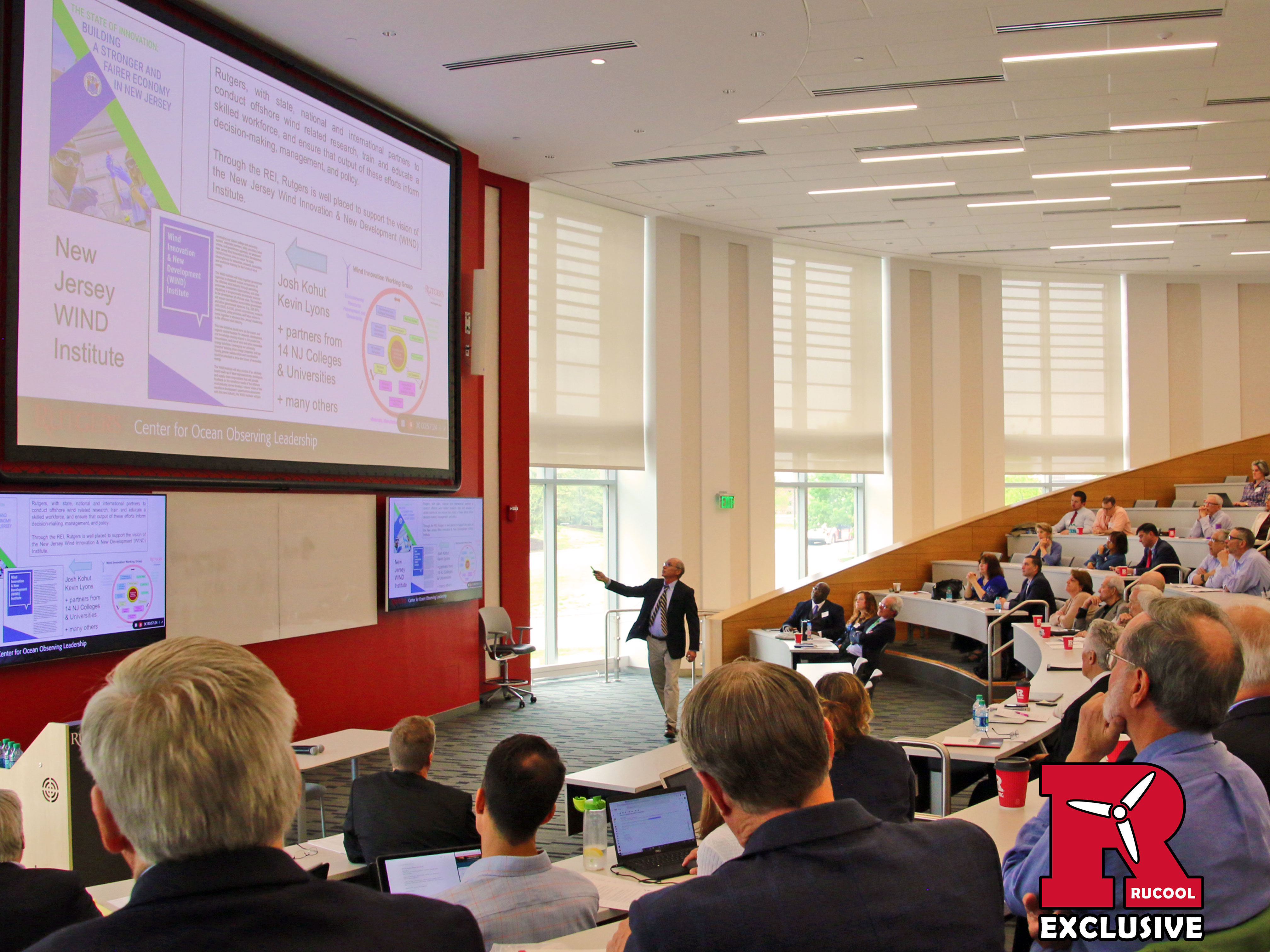 Scott Glenn presents at REI 14th Annual Energy Symposium