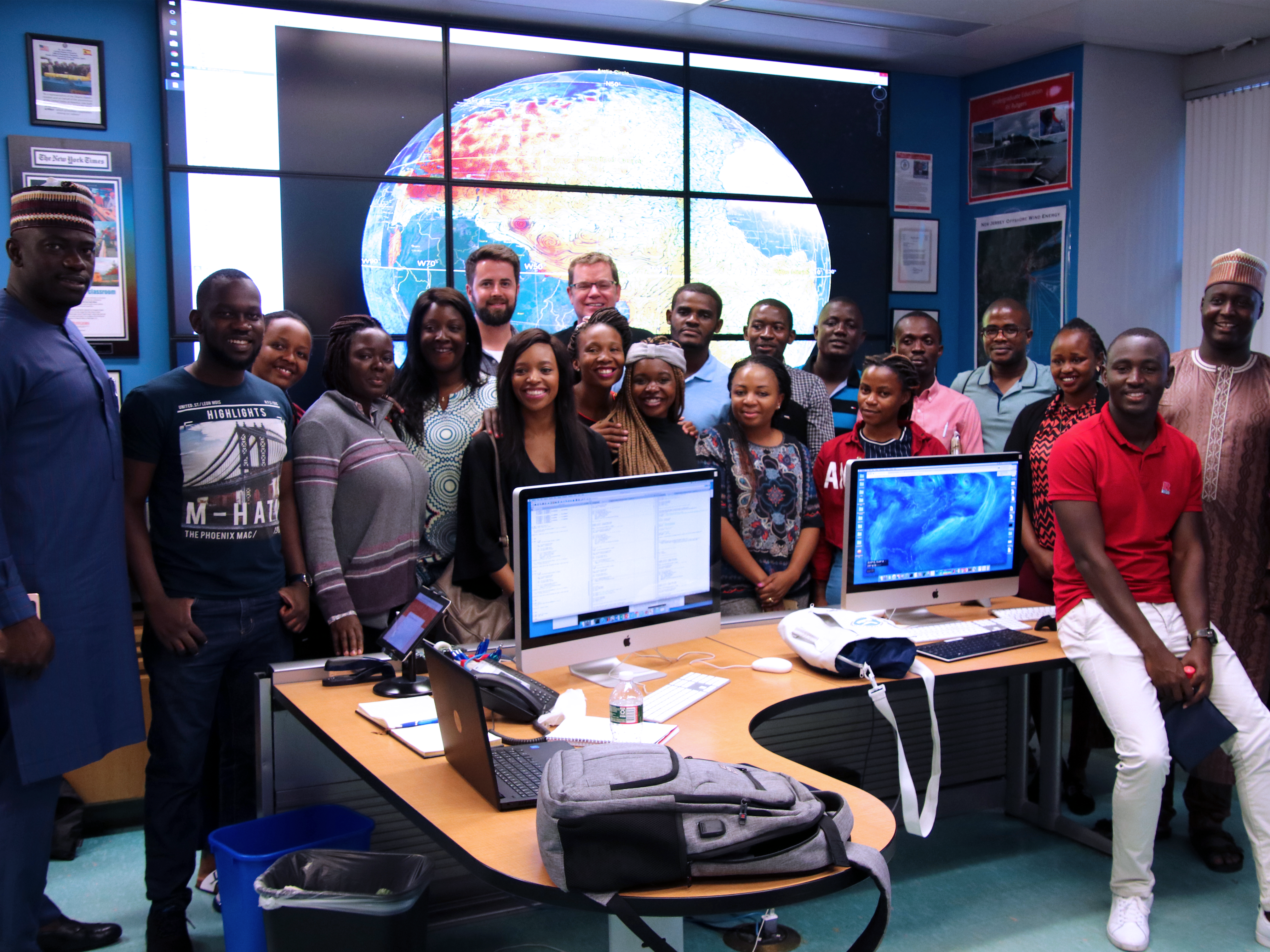 RUCOOL Hosts 16 Countries through the Mandela Fellowship