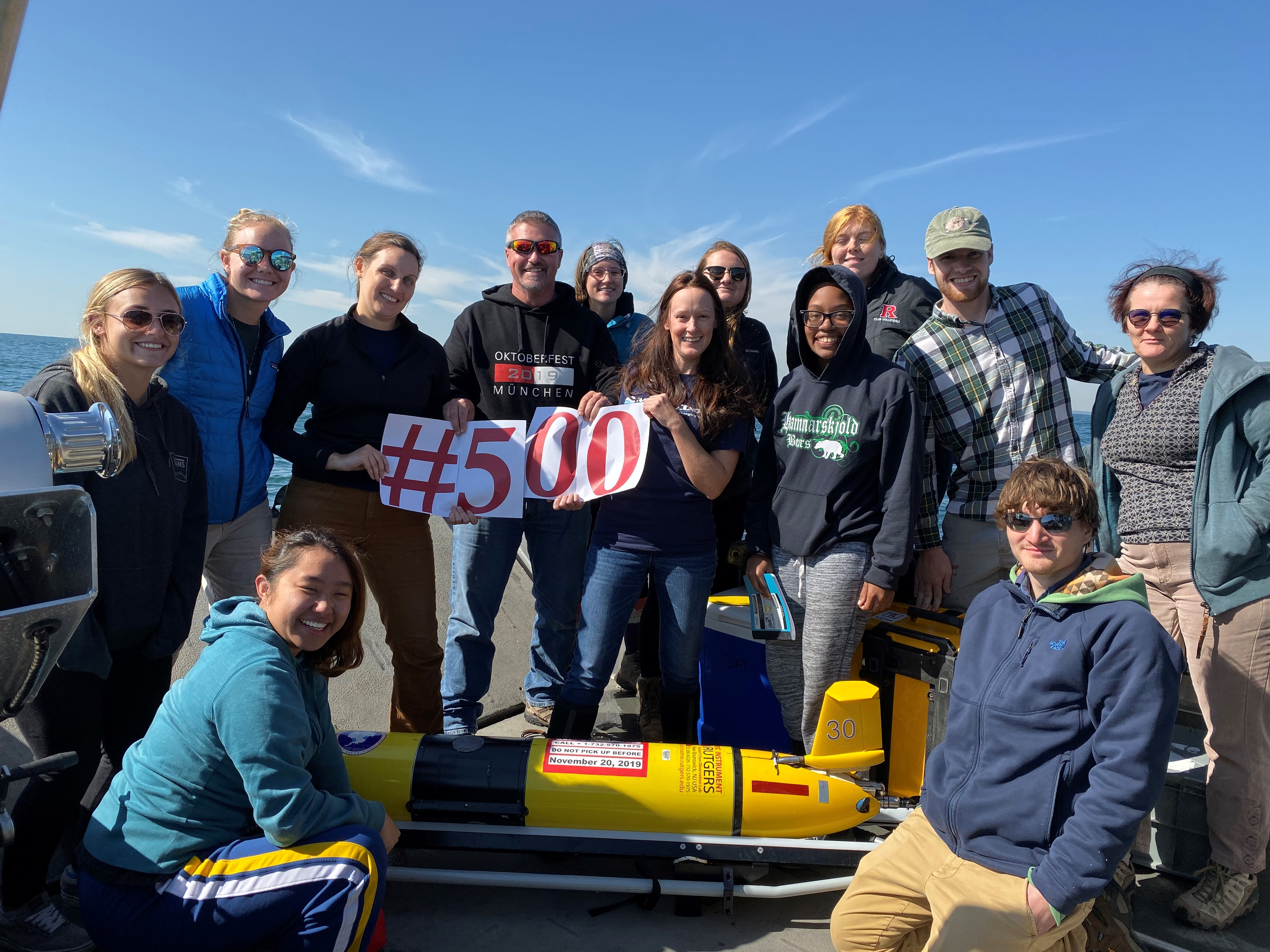 RUCOOL Celebrates the 500th Glider Deployment