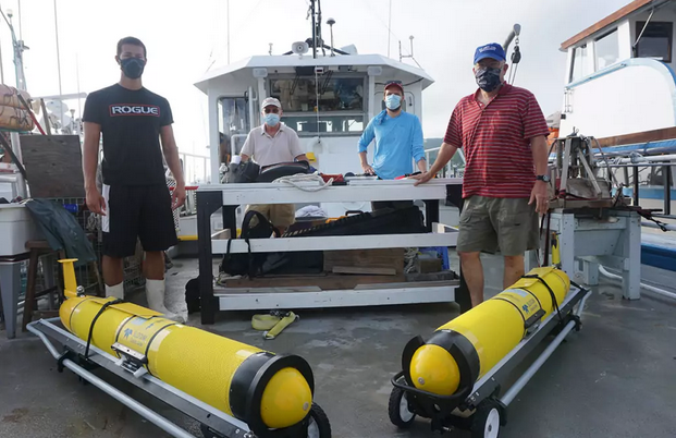 Hurricane Research Gliders Launched from Monmouth Vessel