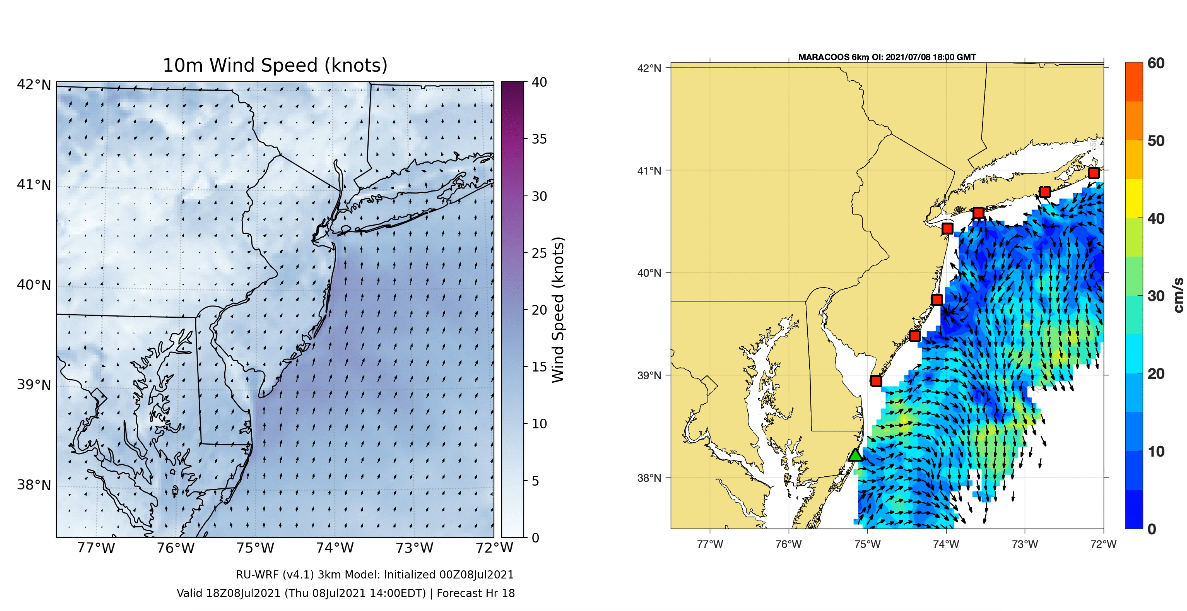 Tracking the Ocean Response to Tropical Storm Elsa
