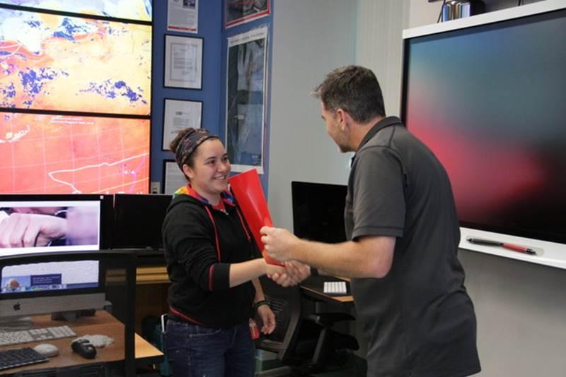Julia Engdahl Wins NOAA CO-OPS Professional Excellence Award