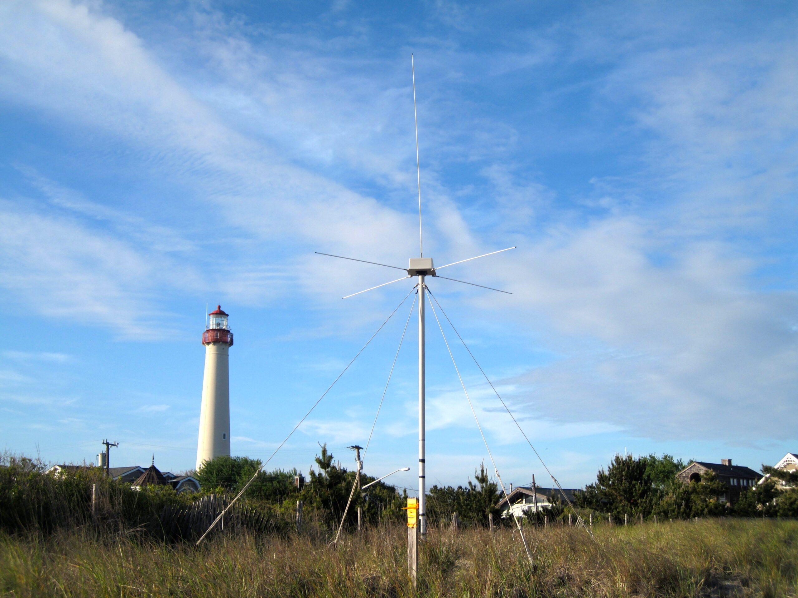 Rutgers had to Retire the High Frequency Radar Installation at Cape May Point, NJ